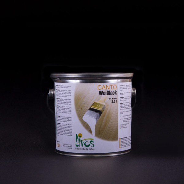 CANTO Natural White Satin Paint N° 645